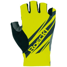 Roeckl Inoka Gloves, neon yellow
